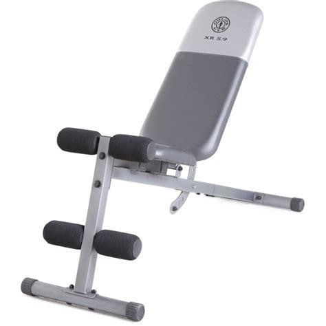 Banco de ejercicio Gold´s Gym   Ultra Fitness