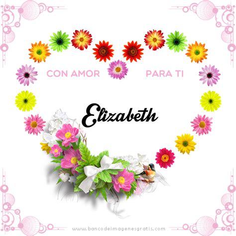 BANCO DE IMÁGENES: Corazón con flores, mensaje y nombres ...