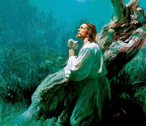 Banco de Imagenes y fotos gratis: Jesus Orando, parte 1