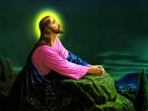Banco de Imagenes y fotos gratis: Jesus Orando, parte 2