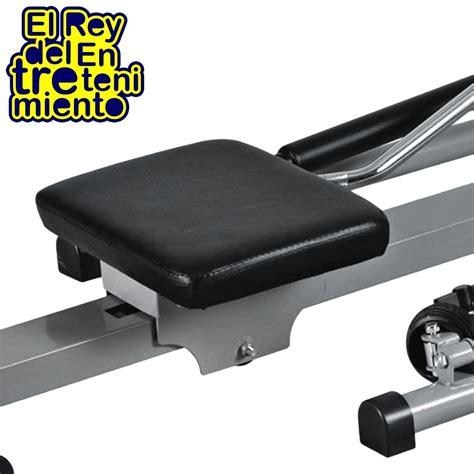 Banco De Remo Plegable Aparato Musculación +rueda ...