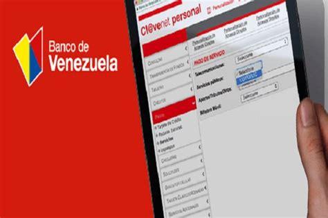Banco de Venezuela ofrecerá nuevo servicio de banca por ...
