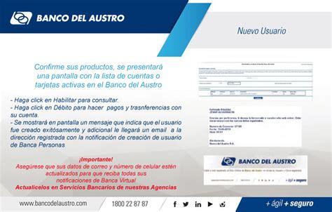 Banco del Austro > Canales > Banca Virtual > Nuestra Banca ...
