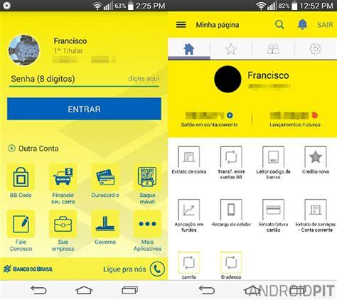 Banco do Brasil reformula aplicativo para Android e ...