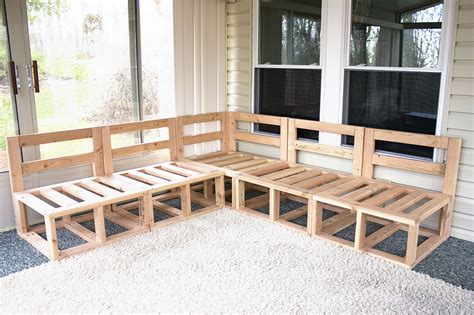 Banco esquinero de madera para porche | salas en 2019 ...
