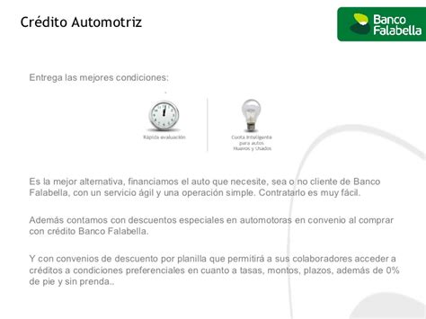 Banco Falabella Simulador Credito Automotriz - prestamos ...