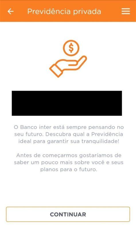 Banco Inter agora oferece Previdência Privada - Conta-Corrente
