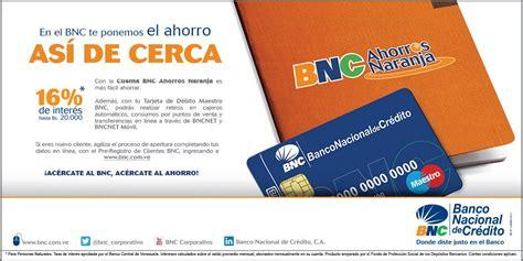Banco Nacional De Credito Cuenta Ahorro Naranja ...