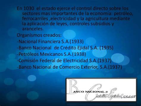 Banco Nacional De Crédito Ejidal S. A. De Cv   que son ...