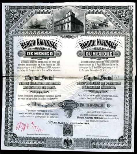 Banco Nacional De Mexico - Banque Nationale Du Mexique ...