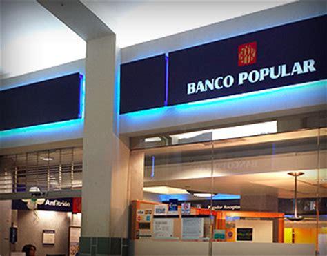 Banco Popular | Galeria Paseos