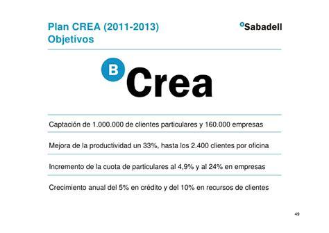 Banco Sabadell - Presentación Resultados 4º Trimestre 2010