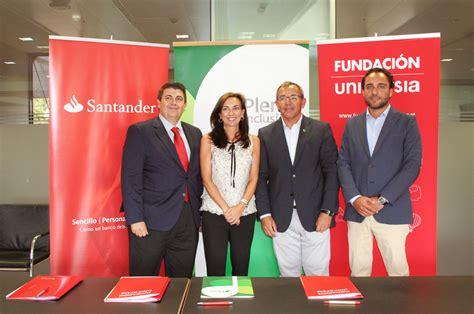 Banco Santander apoya el empleo público de personas con ...
