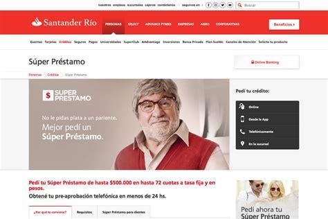 Banco Santander Rio Online Home Banking   Flisol Home
