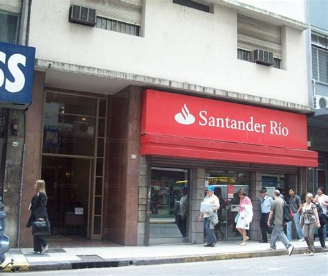 Banco Santander Río - Sucursal Nº 115 Plaza Lavalle ...