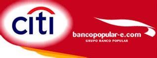 Bancopopular-e mantiene las ventajas de la Citi Oro - Rankia