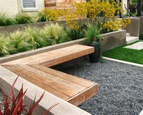 Bancos y gradas para el jardín - veinticinco ideas