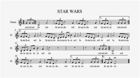 Banda Sonora - Star Wars | Partituras para Flauta