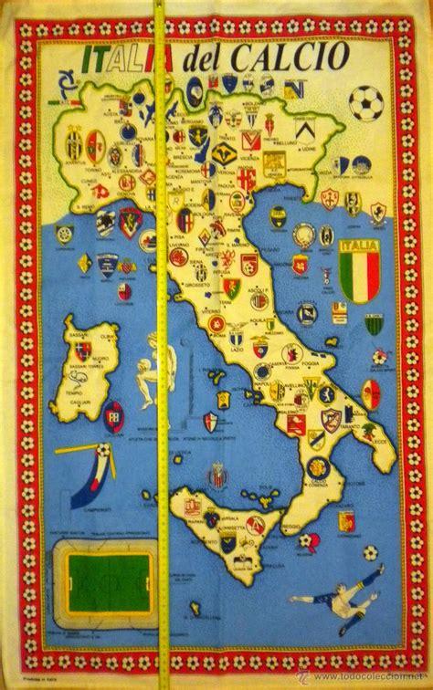 bandera calcio italia mapa equipos de la liga i   Comprar ...