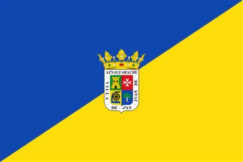 Bandera de San Juan de Aznalfarache para exterior ...