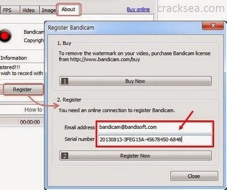 Bandicam 3.4.0.1227 Crack with License Key Full Version