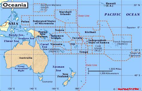 Bandiere dell Oceania