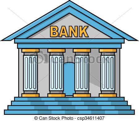Bank building illustration design vector clipart   Search ...