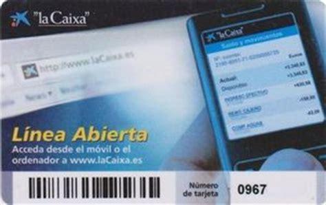 "Bank Card: ""la Caixa"" linea abierta (la Caixa - Caixa de ..."