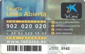 "Bank Card: ""la Caixa"" Tarjeta Línea Abierta - 17049/12.03 ..."