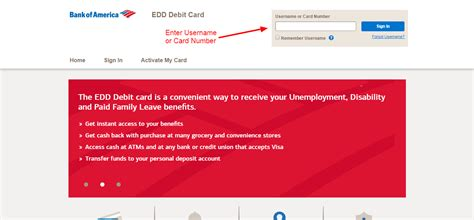 Bank of America EDD Debit Card Online Login - CC Bank