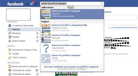Banner de Facebook en Español - Taringa!