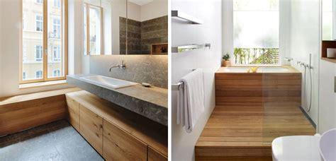 Baños en madera con mucho estilo
