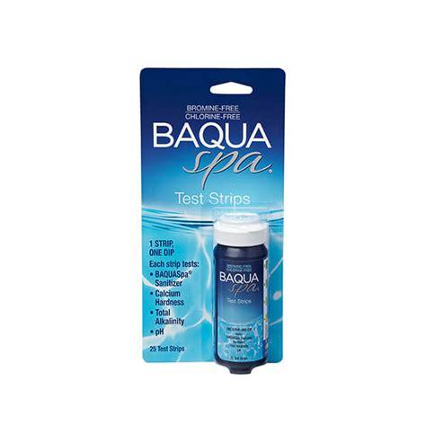 BAQUA Spa® 4 Way Test Strips   Artesian Pools & Spas