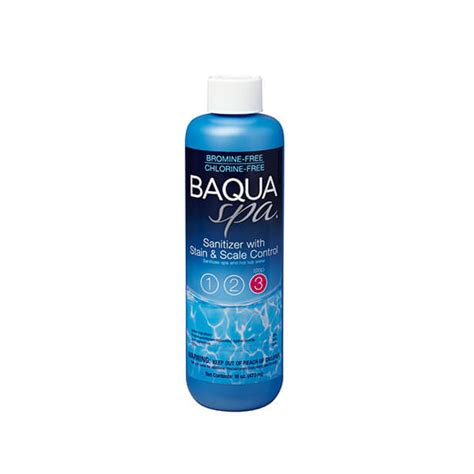 BAQUA Spa® Sanitizer with Stain & Scale Control   Superstore