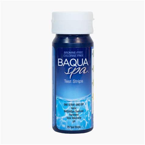 Baqua Spa Test Strips  #1 Baquaspa Dealer in America