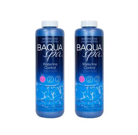 Baqua Spa Waterline Control 2 bottle Deal