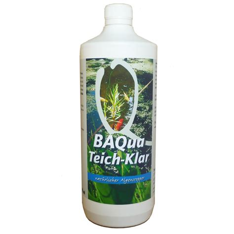 BAqua Teich Klar, natürlicher Algenstopper   Theodor Backs ...