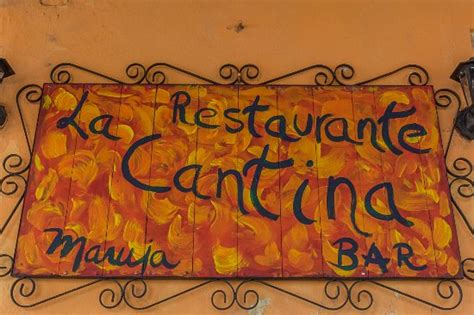 bar restaurant - Picture of La Cantina Restaurante y Bar ...