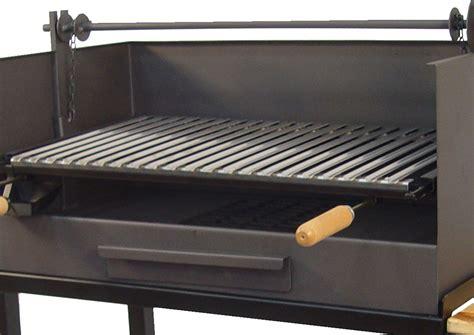Barbacoa carbón con Elevador Grande - The Barbecue Store
