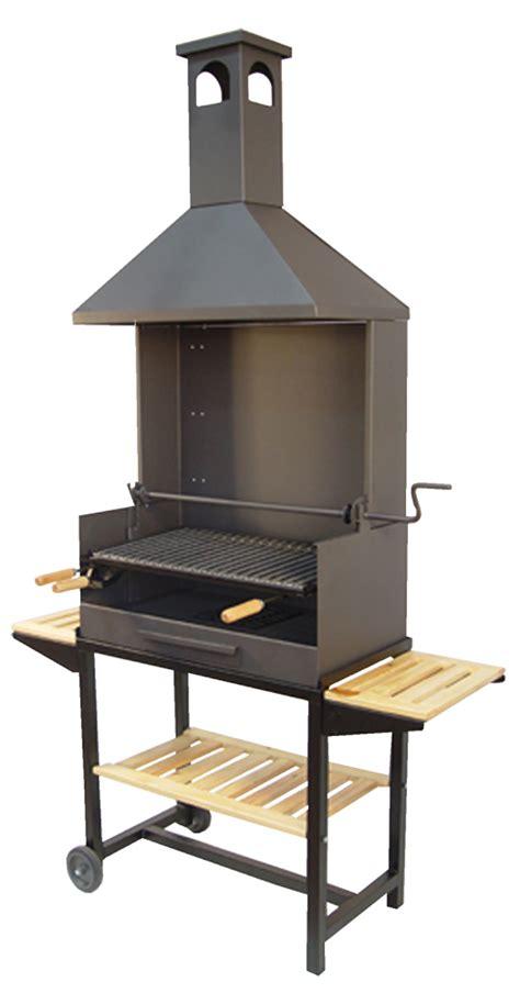 Barbacoa de carbón con Chimenea Grande - The Barbecue Store