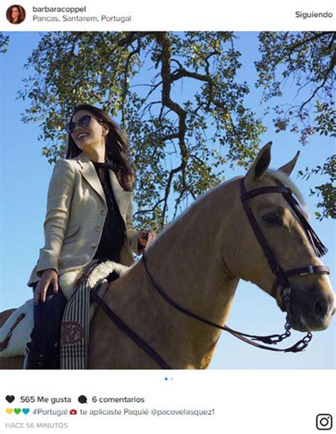 Bárbara Coppel superó su miedo a los caballos y ahora ...
