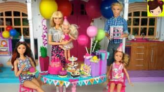 Barbie Fiesta de Cumpleaños Sorpresa Para Chelsea   Los ...