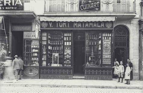 BARCELOFÍLIA : LA RAMBLA. Botigues i comerços. Anys 1920's