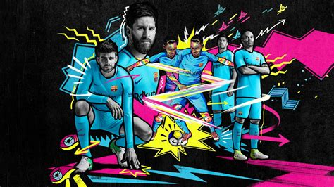 Barcelona 17-18 Away Kit Released - Footy Headlines