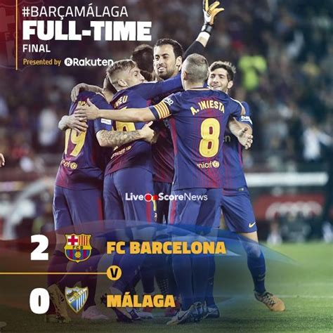 Barcelona 2-0 Malaga Full Highlights – LaLiga Santander ...