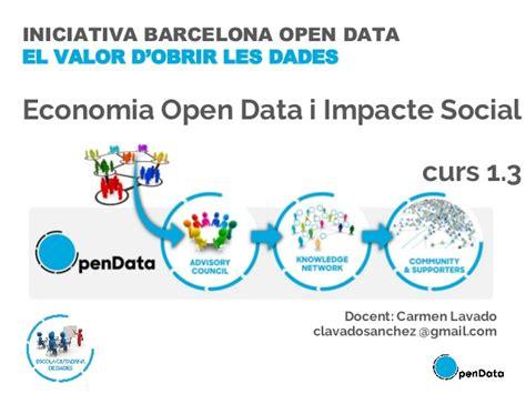 Barcelona Activa - Curs 1.3. Economica Open Data i Impacte ...