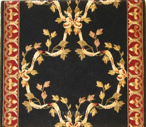 Barcelona BR01 Black European Carpet Stair Runner