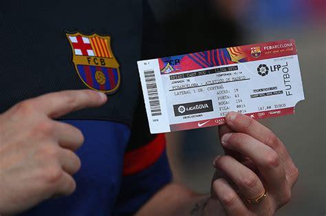 Barcelona fc tickets price