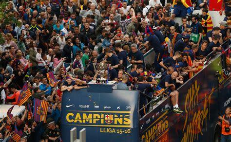 Barcelona festeja; Rayo Vallecano y Getafe descienden en ...
