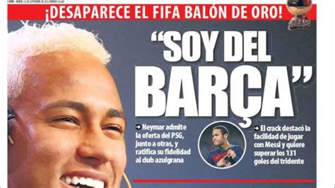 Barcelona: Iniesta y Neymar, protagonistas en la prensa de ...